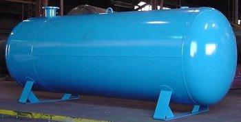 horizontal air tanks