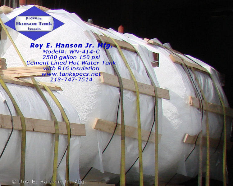 Water Storage Tanks - Hot Water Storage Tanks - Hanson Tank