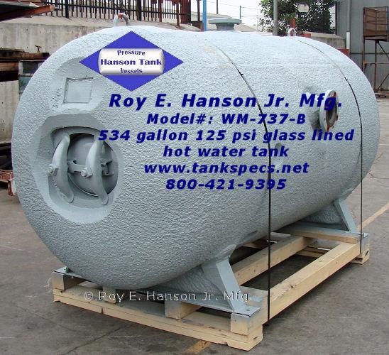 Hot Water Generators Chilled Tanks Buffer